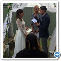 Alberto reading his vows to Andrea it must be Andrea's turn soon