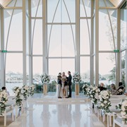 Wonderful venue for Clay and Skye's wedding ceremony!