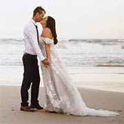 Cameron and Jasmin share a kiss by the ocean and  share their Love for the rest of their lives.