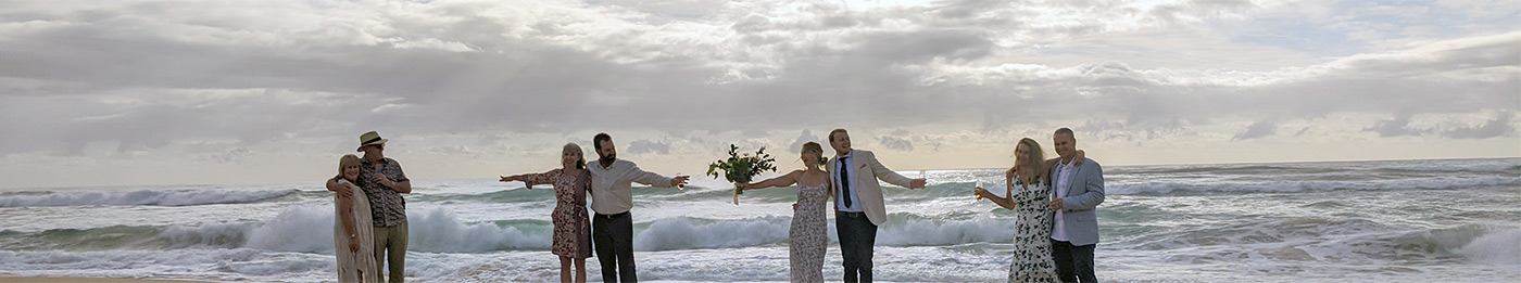 Social distancing wedding 25 March 2020 Broadbeach Gold Coast