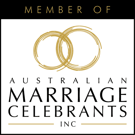 Australian Marriage Celebrants Inc (AMC) association logo